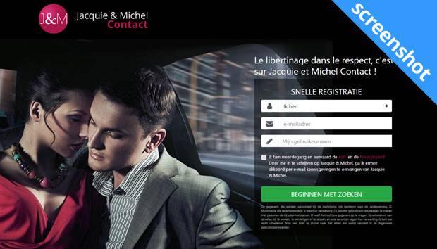 Jacquie et Michel Contact screenshot