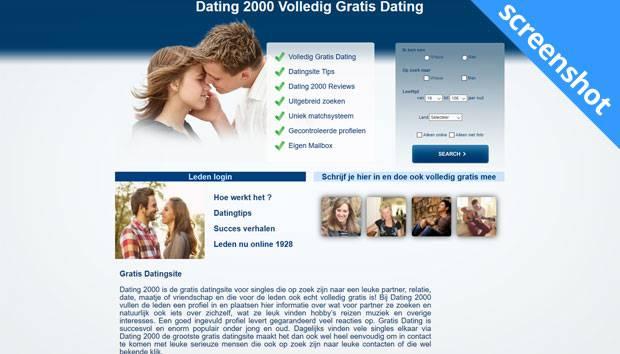 Dating 2000 screenshot