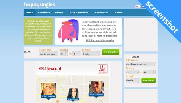 HappySingles screenshot