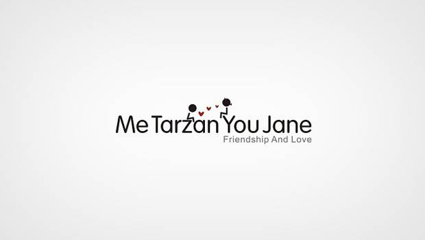Me Tarzan you Jane logo