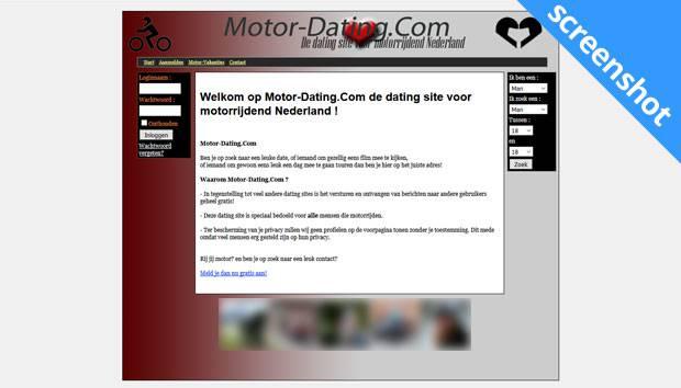 Motor-Dating.com screenshot