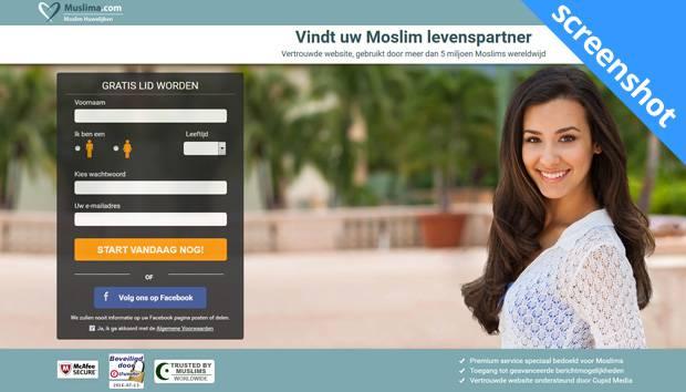 Muslima.com screenshot