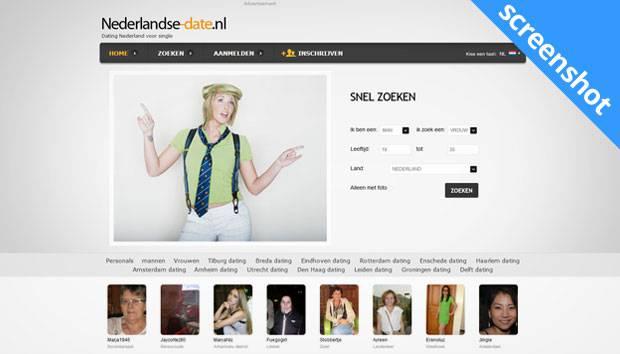 Nederlandse-date.nl screenshot