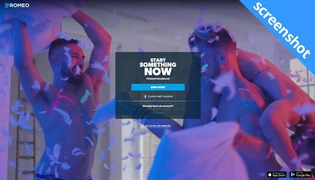 PlanetRomeo.com screenshot