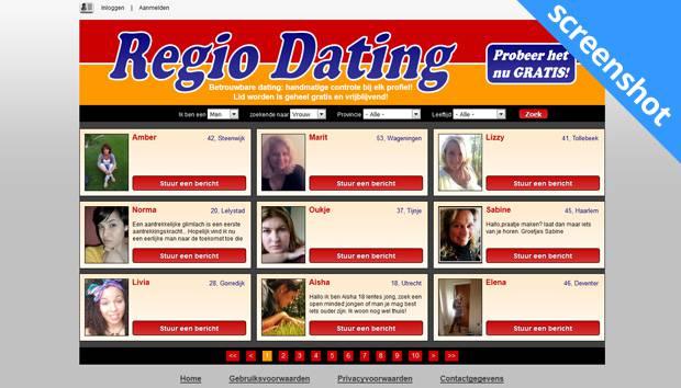 Regio Dating screenshot