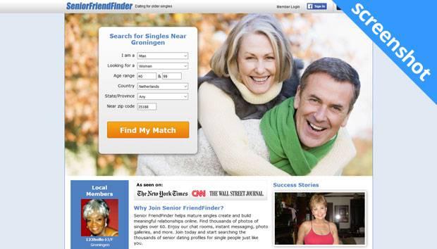 SeniorFriendFinder screenshot