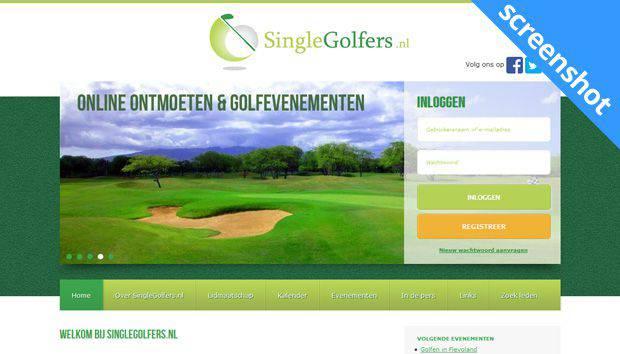 SingleGolfers screenshot