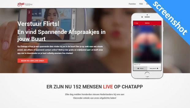 Chatapp.nl screenshot