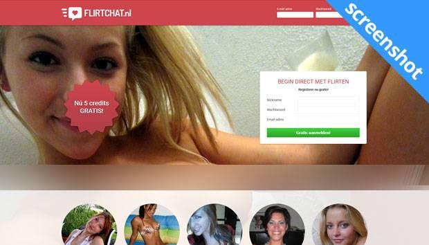 Flirtchat.nl screenshot
