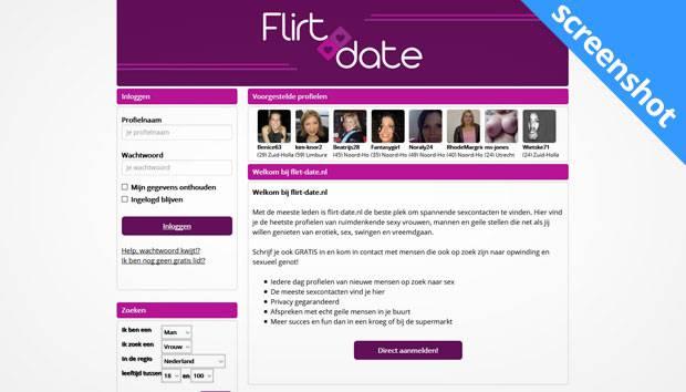 Flirt-Date.nl screenshot