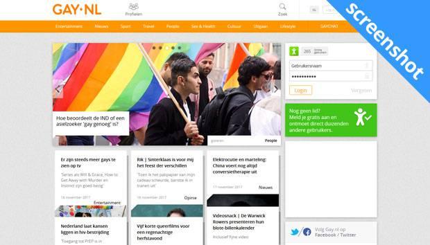 Gay.nl screenshot