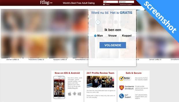 Fling.com screenshot