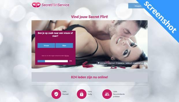 SecretFlirtService screenshot
