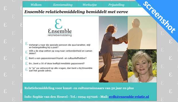 Ensemble screenshot