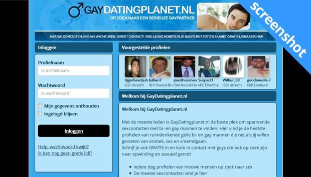 Gaydatingplanet.nl screenshot