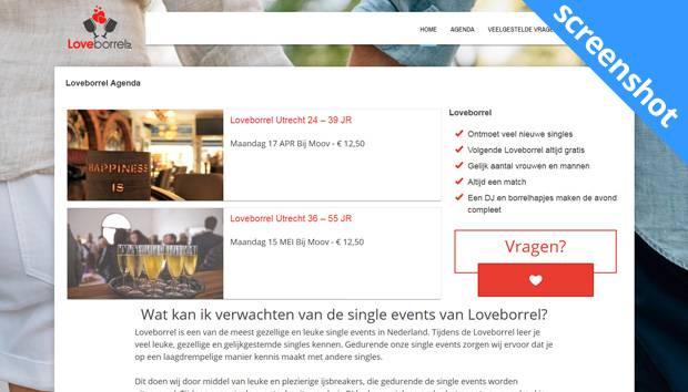 Loveborrel.nl screenshot