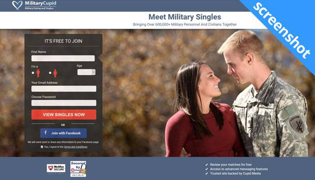 MilitaryCupid screenshot