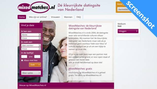 MixedMatches.nl screenshot