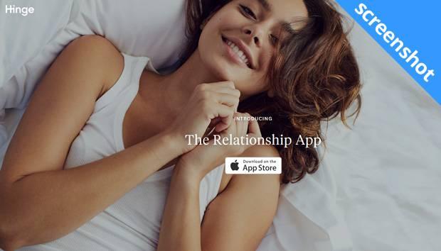 Hinge app screenshot