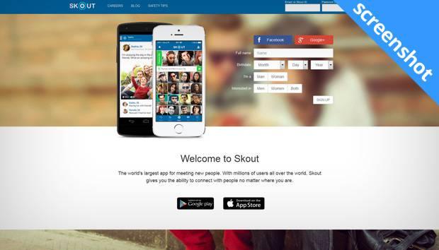 Skout app screenshot