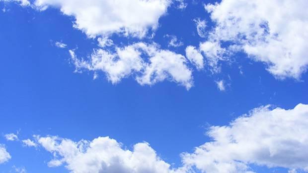 In de wolken zijn