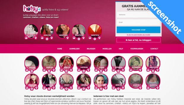 Hotsy.nl screenshot