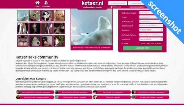 Ketser.nl screenshot
