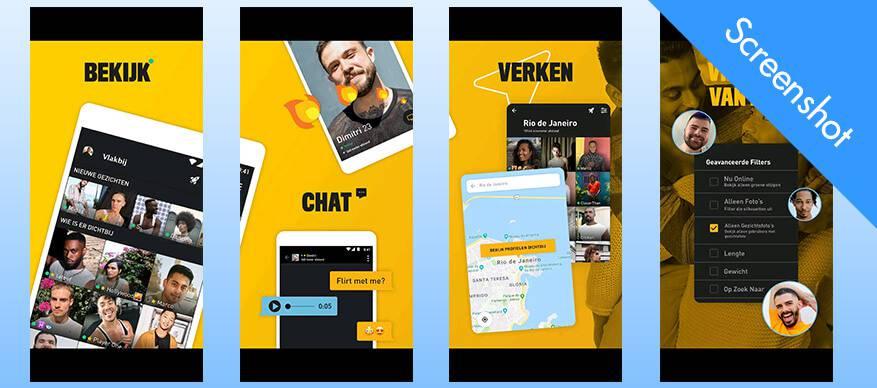 grindr app screenshot