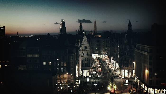 Daten in Antwerpen