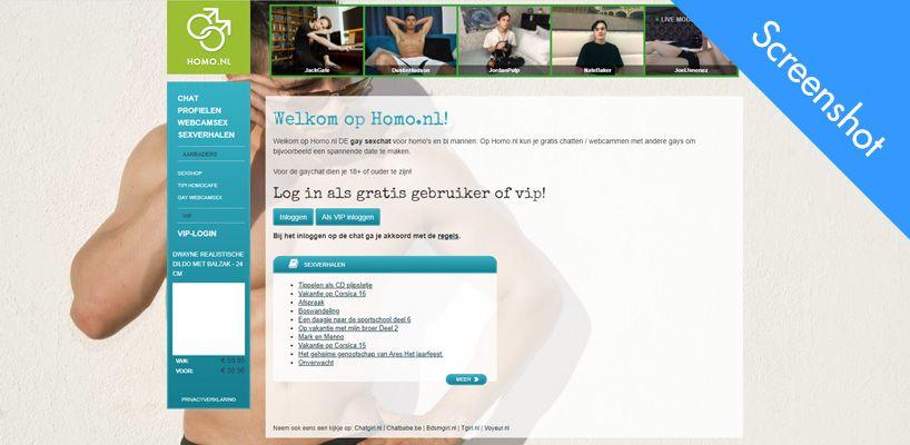 homo nl screenshot