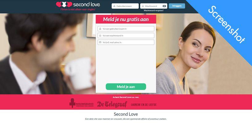 second love screenshot
