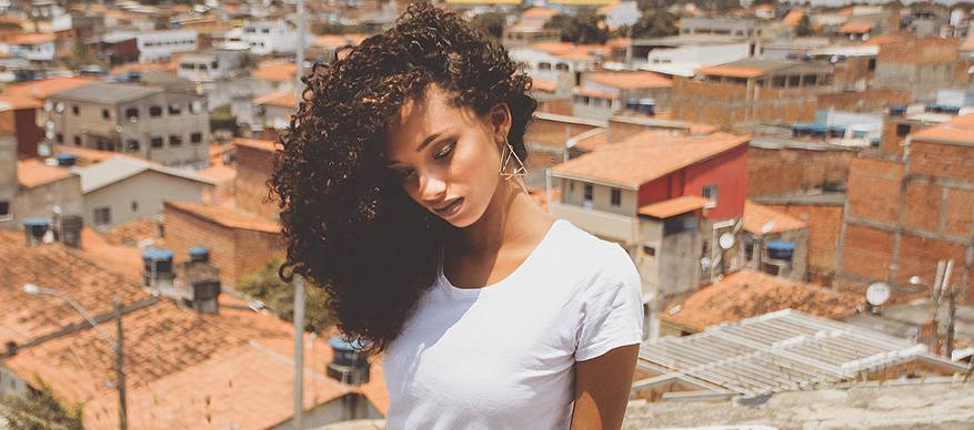 Zuid Amerikaanse vrouw