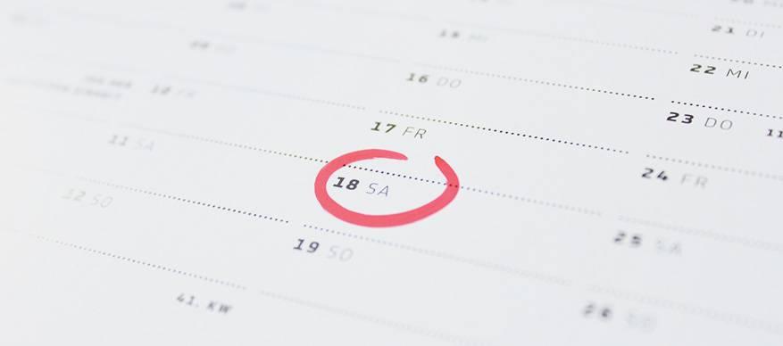 datum kiezen
