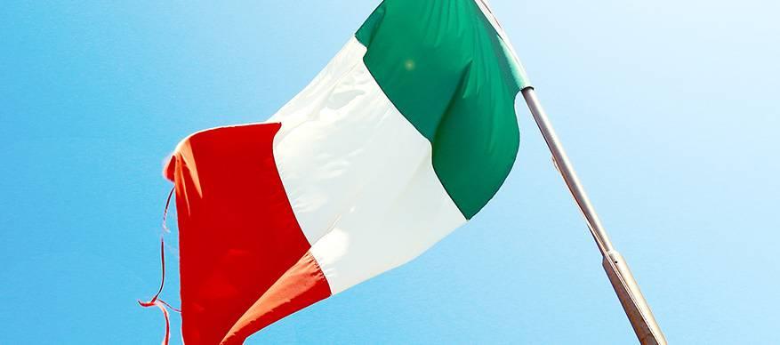 italie vlag