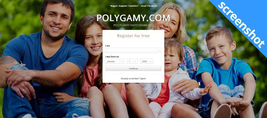 polygamy screenshot