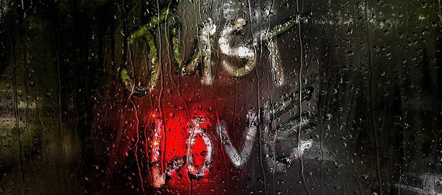 trouwen regen