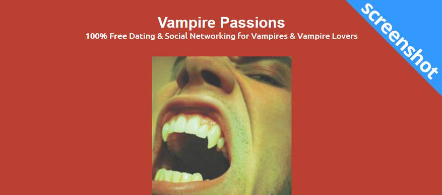 vampire passions screenshot