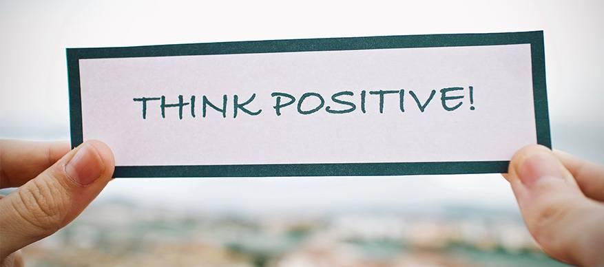 vertrouwen denk positief